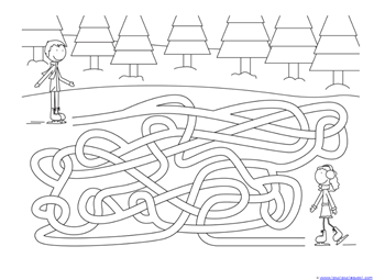 Winter Mazes for Kids (9)