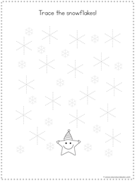 Winter Tracing Fun for Kids (7)