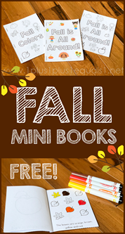 Fall Mini Books