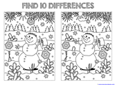 Find the Differences in the Picture WINTER Edition (2)
