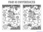 Find the Differences in the Picture WINTER Edition (7)