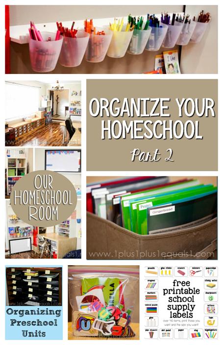 Organize Your Homeschool Part 2