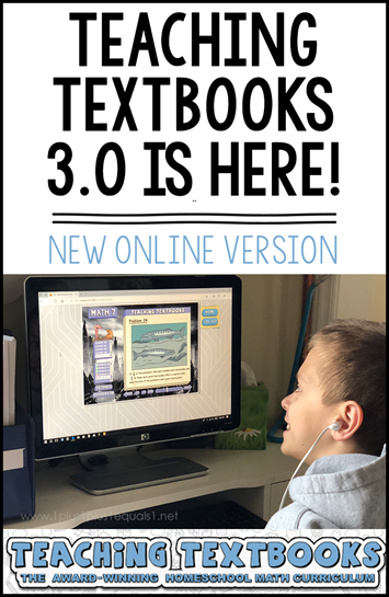 Teaching Textbooks Math 3.0 Online Subscription Review