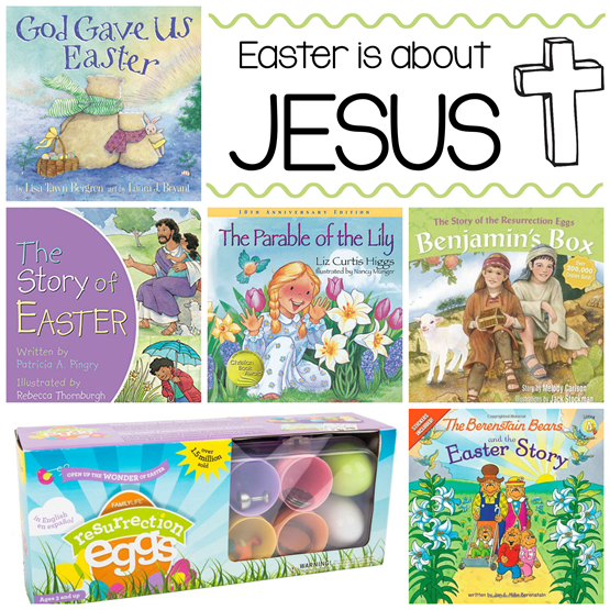 Easter Books for Kids About Jesus