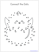 Easter Dot to Dot (3)