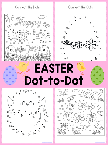 Easter Dot to Dot