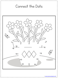 Spring Dot to Dot Printables (2)