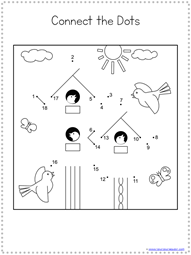 Spring Dot to Dot Printables (4)