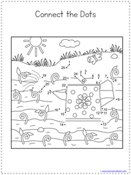 Spring Dot to Dot Printables (5)