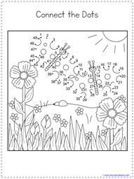 Spring Dot to Dot Printables (6)