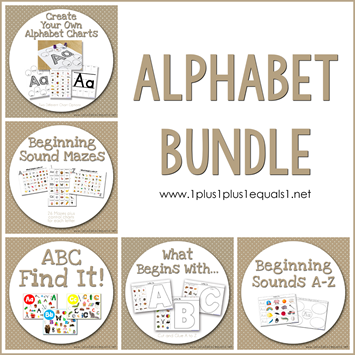 Alphabet Bundle TN