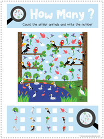 Bird Fun Pack Free Printables (3)