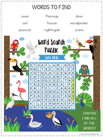 Bird Fun Pack Free Printables (5)