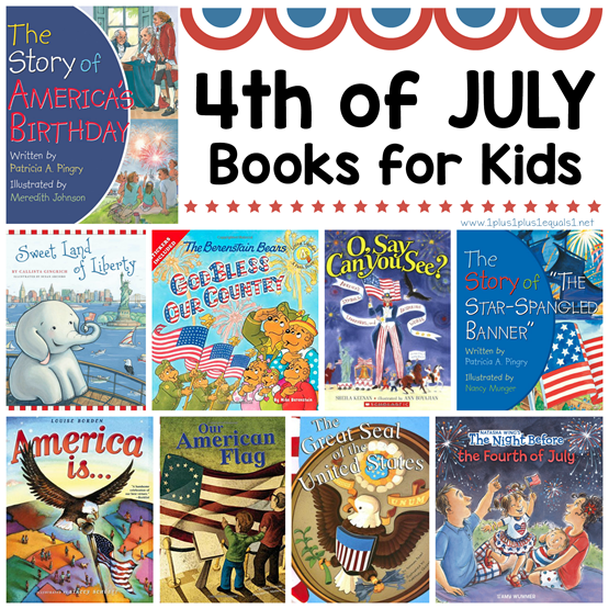 4th of July Books for Kids