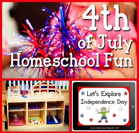 4th of July Homeschool Fun FB