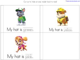 Paw Patrol Kindergarten Printables (7)