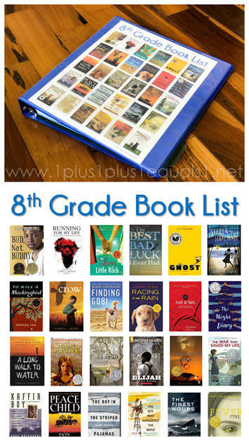 8th Grade Reading List