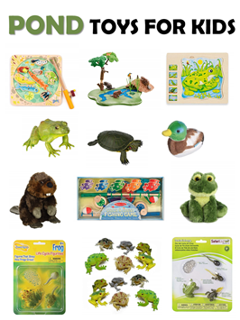 Pond Life Toys for Kids