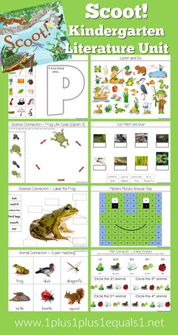 Scoot Pond Theme Kindergarten Literature Unit