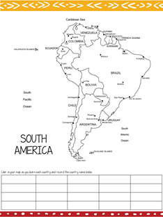 South America Country by Country (2)