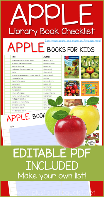 Apple Books Editable Library Checklist