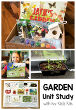 Garden Unit Study with Ivy Kids Kits