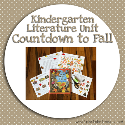 Kindergarten Literature Unit Countdown to Fall