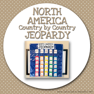 NORTH AMERICA Country by Country Jeopardy
