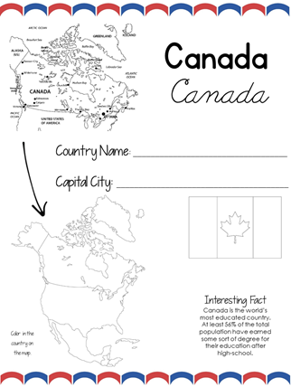 North America Country by Country Geography (1)