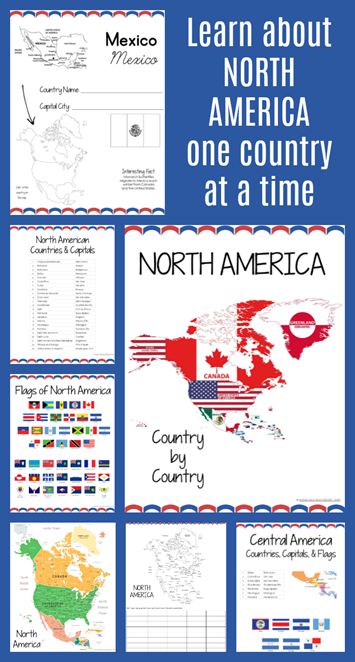 North America Country by Country Geography