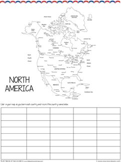 North America Country by Country Geography (2)