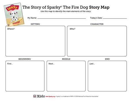 Sparky Story Map