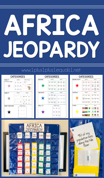 Africa Jeopardy Game Printables