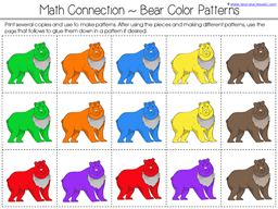 Bear Says Thanks Math Activities (3)