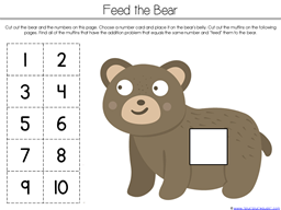 Bear Says Thanks Math Activities (6)