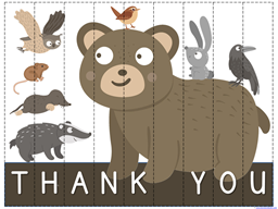 Bear Says Thanks Printables (4)