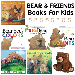 Bear and Friends Books and Toys