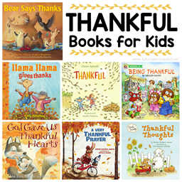 Books about THANKFULNESS for Kids