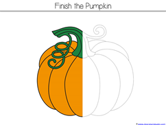 Pumpkin Kindergarten Literature Unit Printables (11)