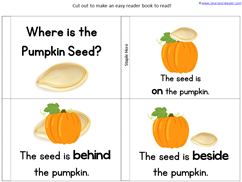 Pumpkin Kindergarten Literature Unit Printables (17)