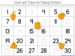 Pumpkin Kindergarten Literature Unit Printables (30)