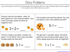 Pumpkin Kindergarten Literature Unit Printables (33)