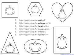 Pumpkin Kindergarten Literature Unit Printables (36)