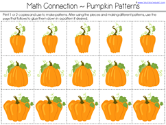 Pumpkin Kindergarten Literature Unit Printables (6)