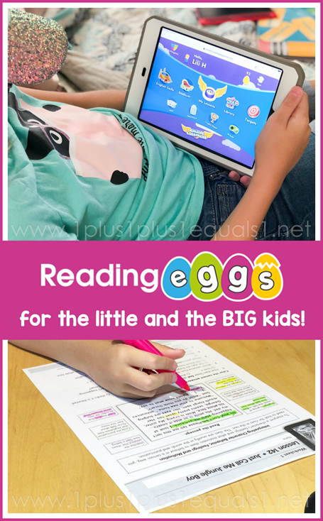 Reading Eggspress for Reading Comprehension Skills and More