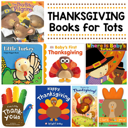 Thanksgiving Books for Babies and Tots