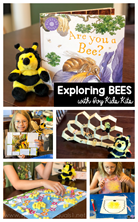Exploring Bees with Ivy Kids Kits