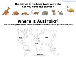 Wombat Divine Kindergarten Literature Unit (9)