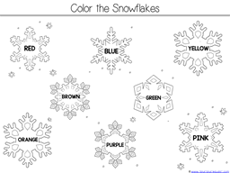 When It Starts To Snow Kindergarten Literature Unit (44)
