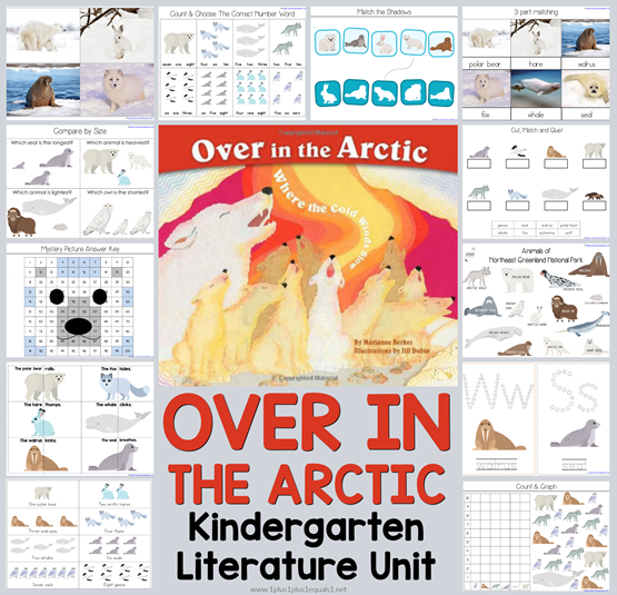 Over in the Arctic Kindergarten Literature Unit